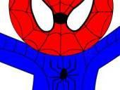 Раскрась Человека паука