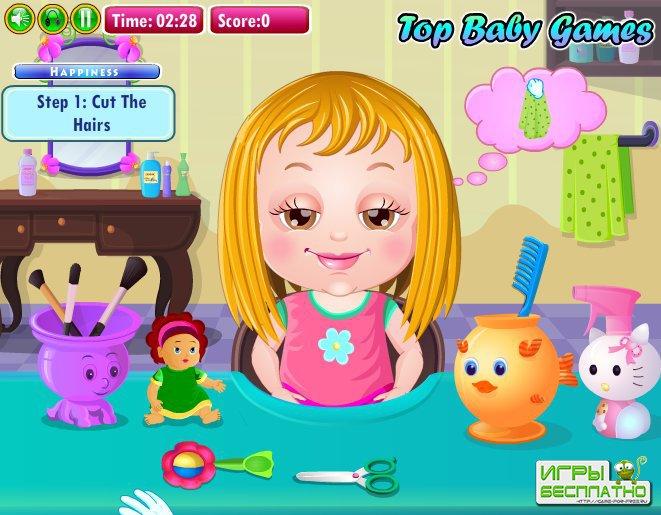 игры для девочек парикмахерская 4 лет