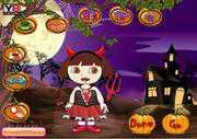 Хеллоуин и Даша