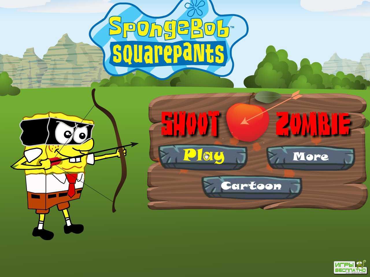 бесплатные игры губка боб квадратные штаны блок вечеринка