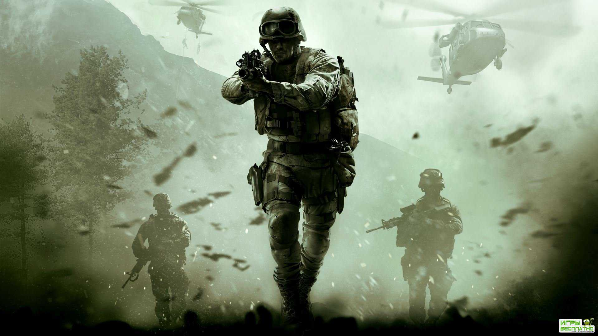 12 минут Call of Duty: Modern Warfare Remastered