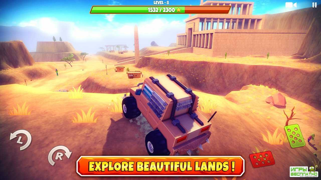 Zombie Offroad Safari GamePlay Android