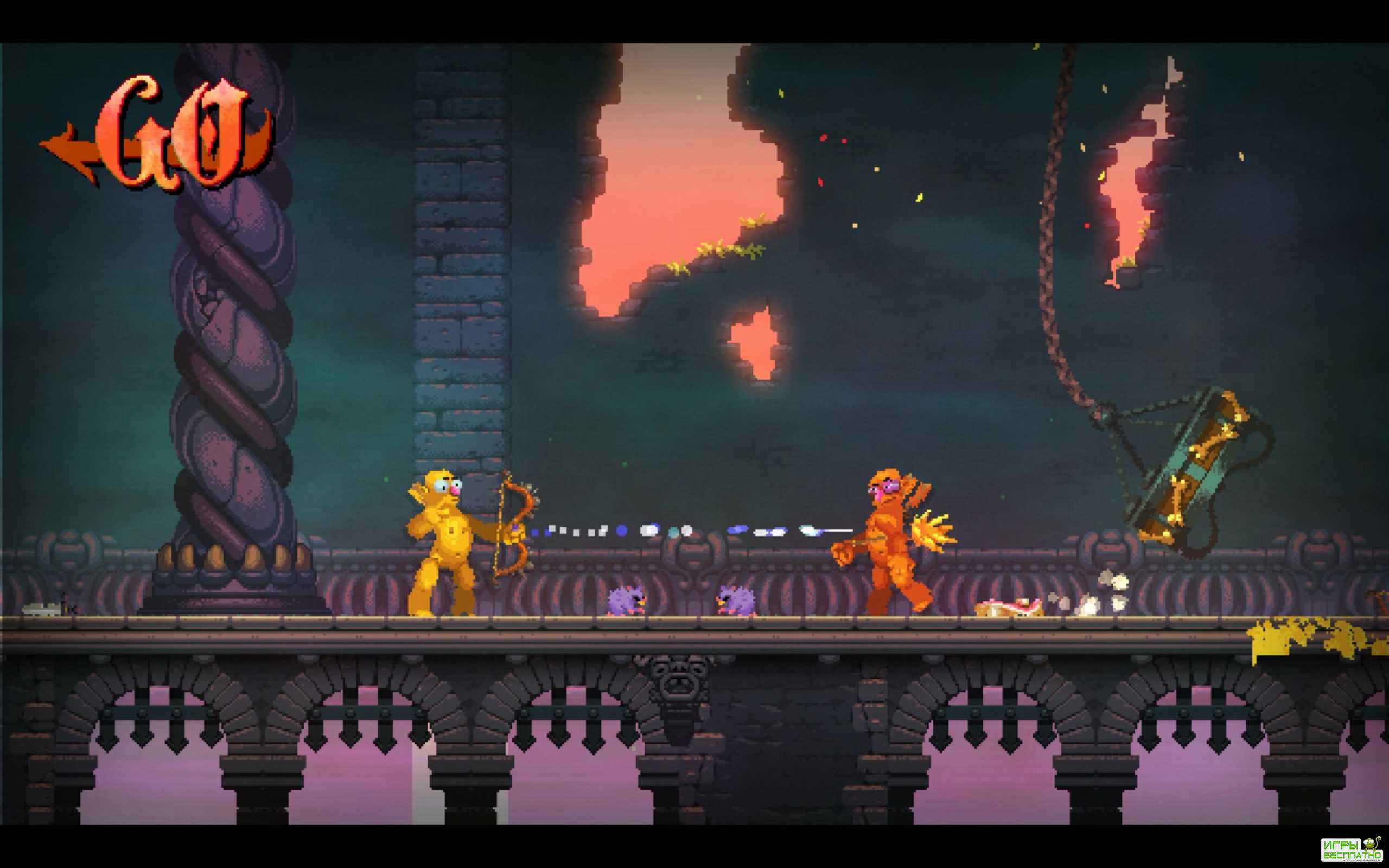 Nidhogg 2 GamePlay PC