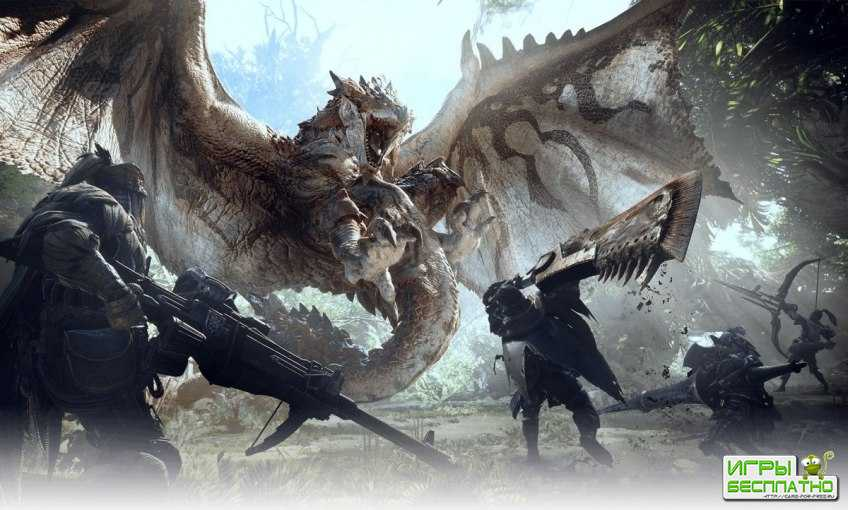 Monster Hunter: World покажут на Tokyo Game Show 2017