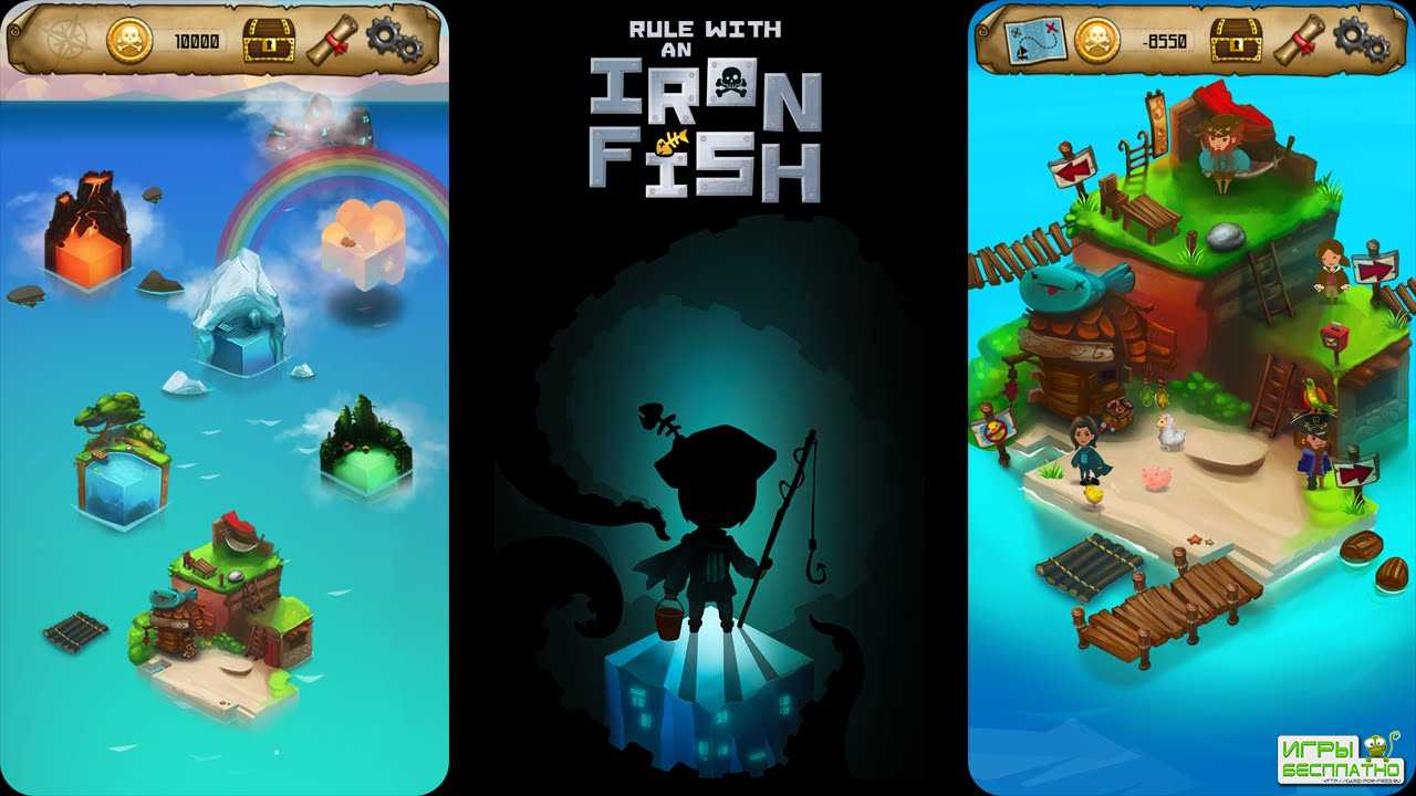 Rule with an Iron Fish GamePlay PC