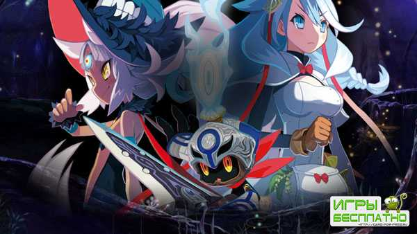 Трейлер с анонсом The Witch and the Hundred Knight 2