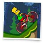 Барт Симпсон на велике 2