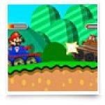 Марио на танке