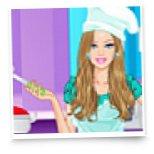 Барби одевалка на кулинарном шоу