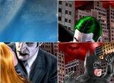 Скользящий Бэтмен пятнашки