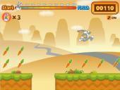 Бакс Банни прыгучий охотник за морковкой