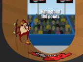 Экстремальные трюки Таза на скейте