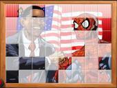Человек паук и президент США