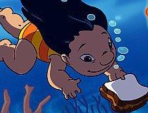 Подводная доставка Лило