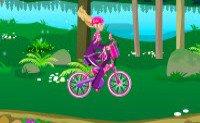 Барби модная велосипедистка