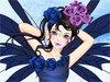 Розовая фея в саду
