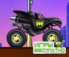 Бетмен на Бетмобиле