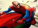 Мотогонки Человека паука