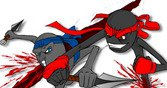 Битва стикмен самураев