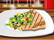 Блюдо рыба-меч