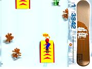 3D сноубординг Марио