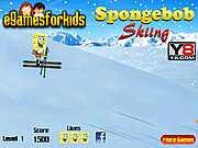 Спанч Боб на лыжах
