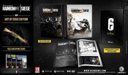 Детали Rainbow Six: Siege - Collector's Edition
