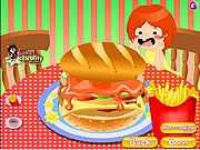 Огромный гамбургер
