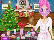Рождественский макияж