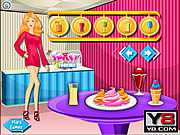 Барби и ее магазин мороженного