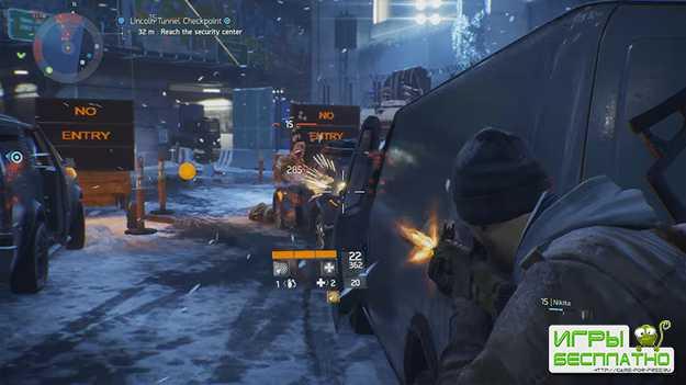 В The Division на геймплей будет влиять время суток и погода