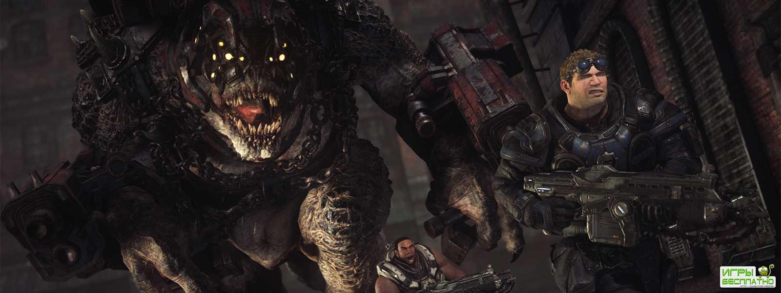 Gears of War 4 покажет графические возможности Xbox One