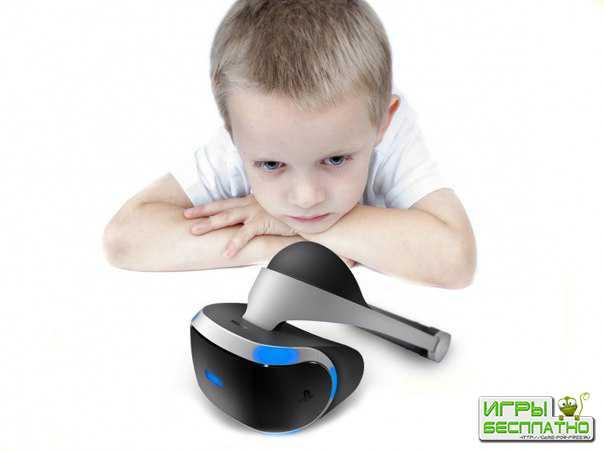 PlayStation VR нельзя будет использовать детям