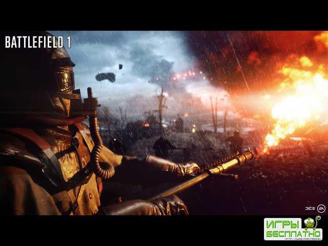 Официальный трейлер с анонсом Battlefield 1