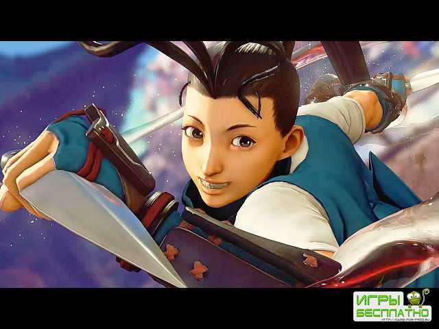 Трейлер Street Fighter V, посвященный Ибуки
