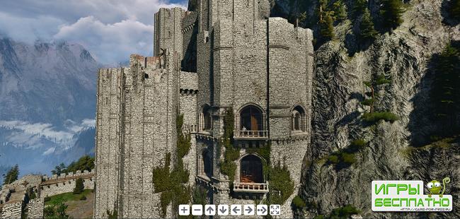 The Witcher 3: Wild Hunt - NVIDIA показала скриншот разрешением 1 гигапиксе ...