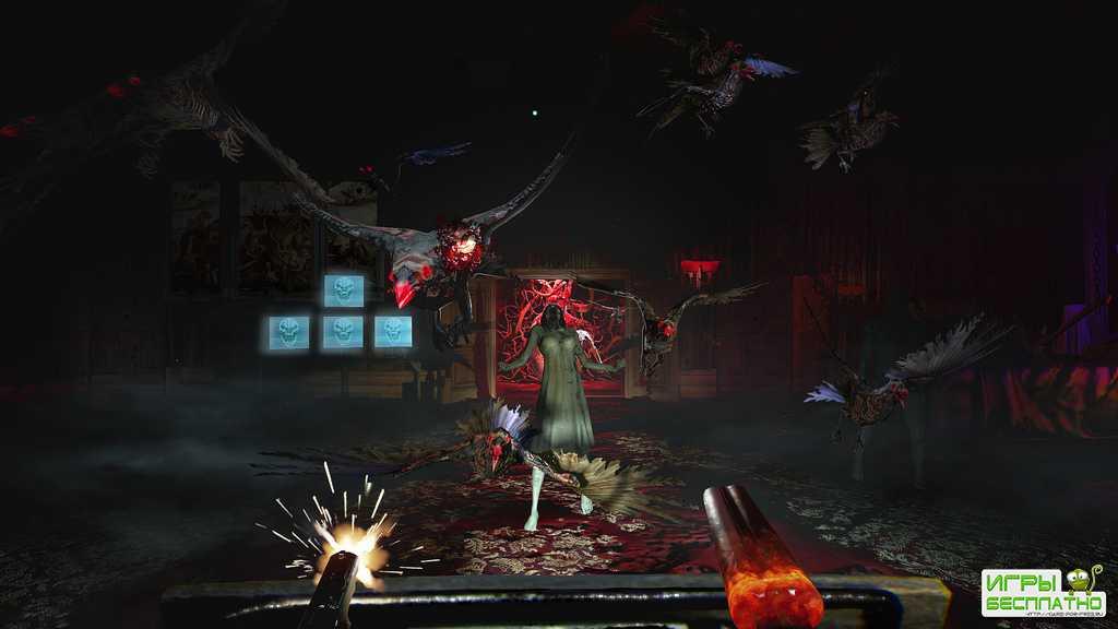 Демонстрация игрового процесса Until Dawn: Rush of Blood для PlayStation VR