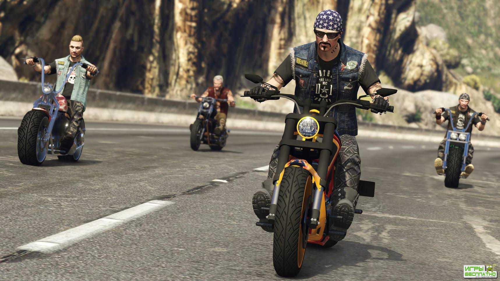 «Байкеры» – свежее обновление для GTA Online выходит 4 октября