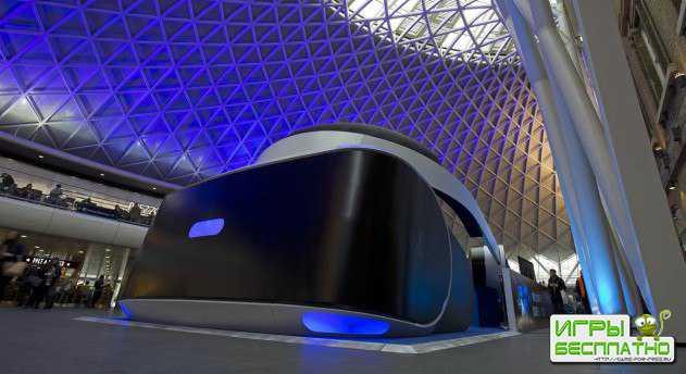 PlayStation VR в гигантском размере