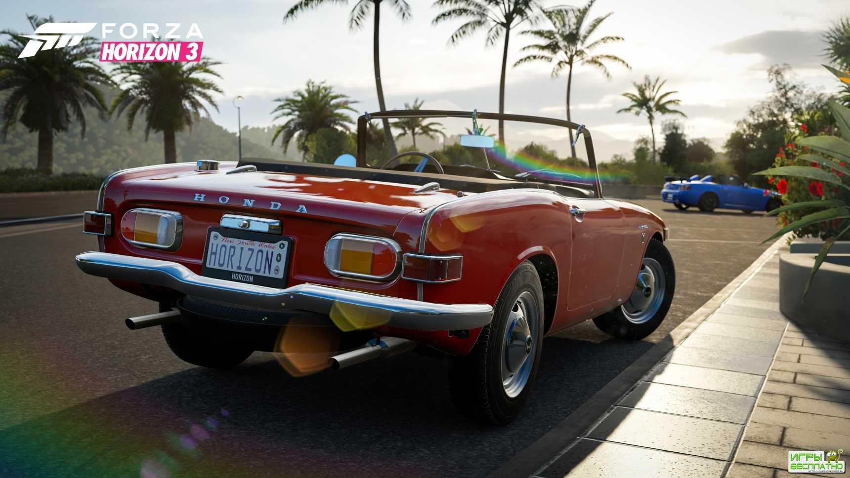 Пак автомобилей Playseat Car Pack для Forza Horizon 3 выйдет сегодня