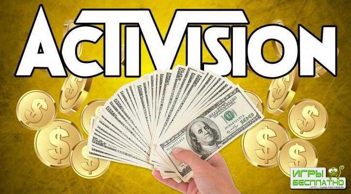 Activision Blizzard купается в деньгах