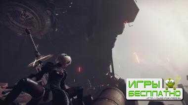 30 минут геймплея NieR: Automata в открытом мире