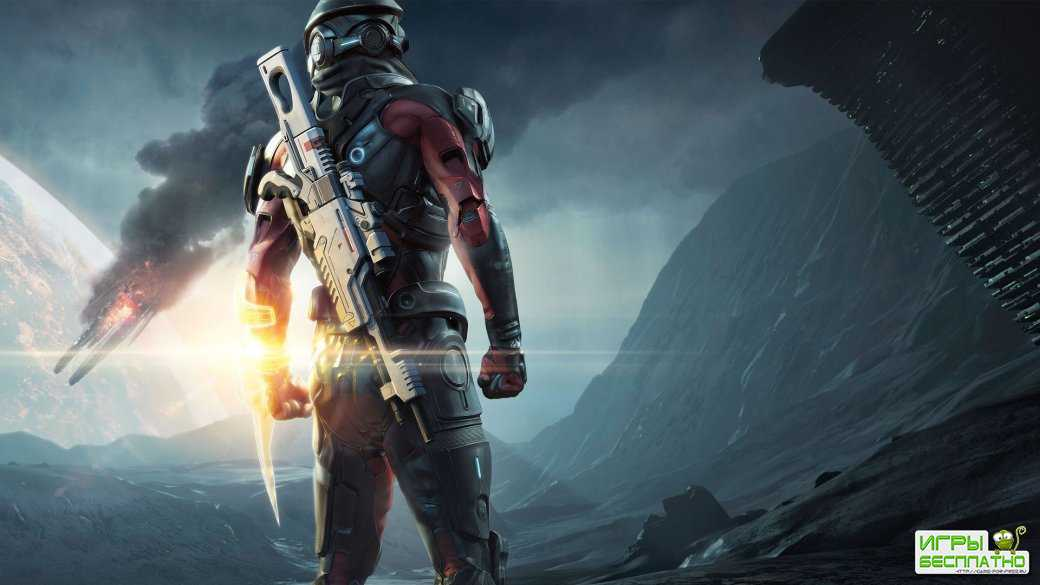 Первые 45 минут Mass Effect: Andromeda