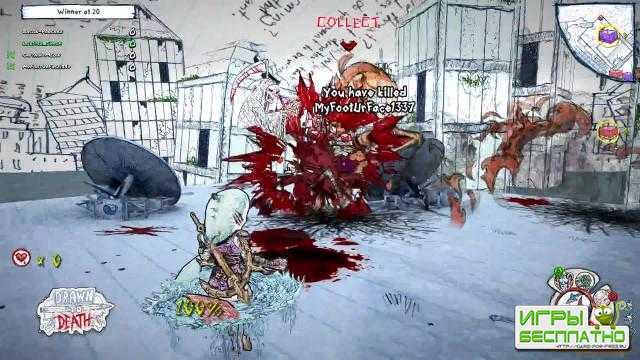 Новый ролик с демонстрацией геймплея многопользовательской игры Drawn to Death