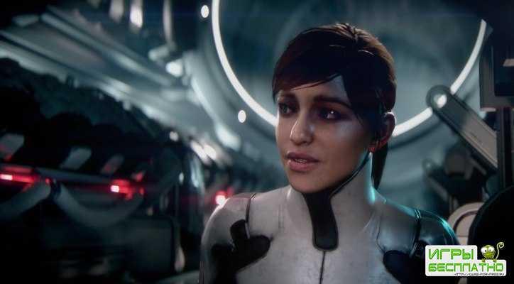 Коротко об анимации в новой Mass Effect