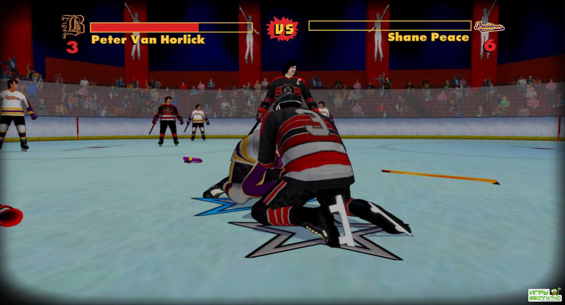 Old Time Hockey GamePlay PC