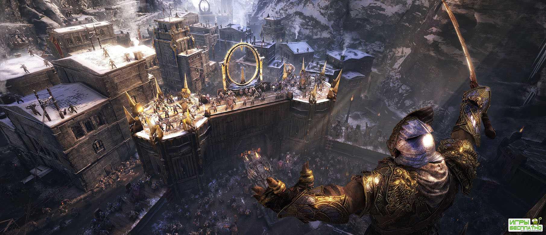 Ролик Middle-earth: Shadow of War, посвящённый улучшенной системе «Немезис»