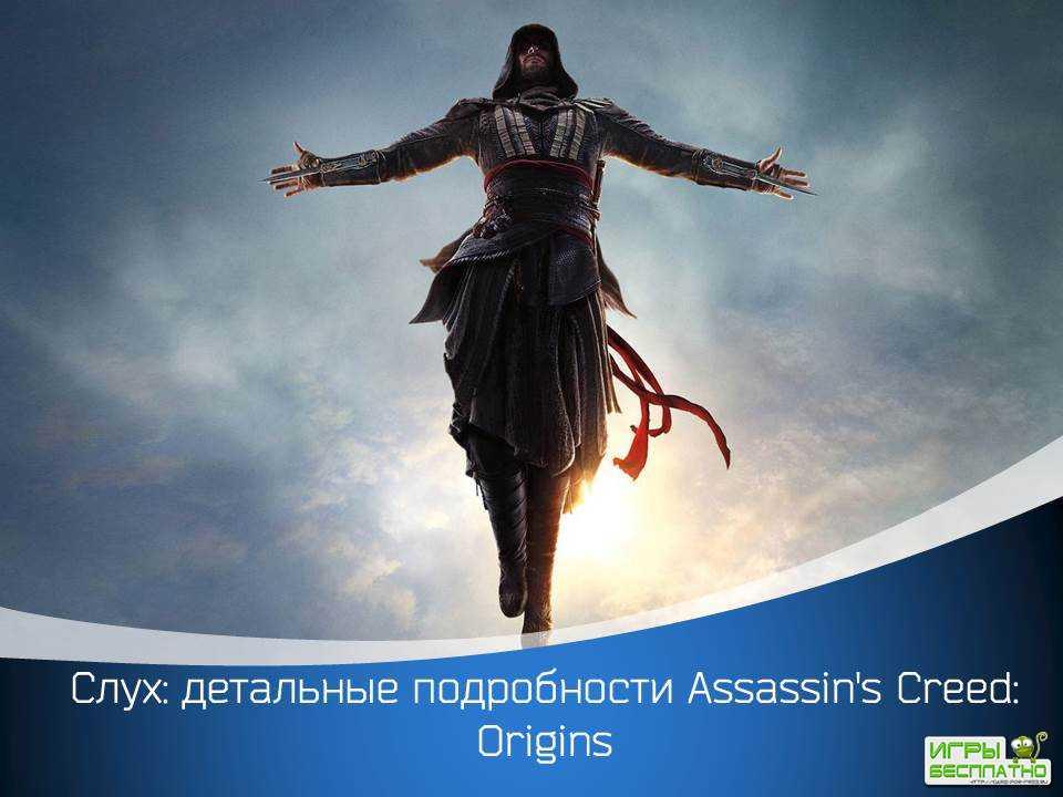 Детальные подробности Assassin's Creed: Origins