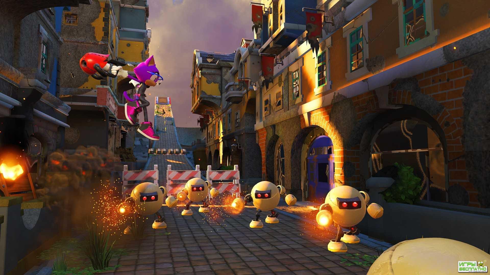 Sonic Forces - новая большая игра про Соника