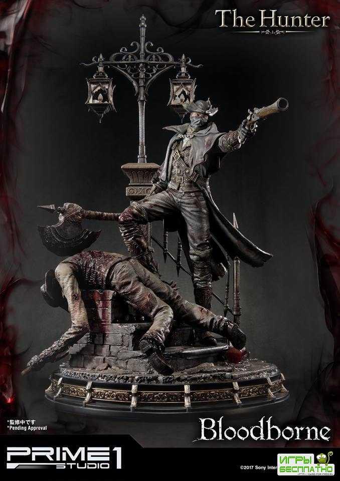 Коллекционную фигурку охотника из Bloodborne оценили в 800 долларов